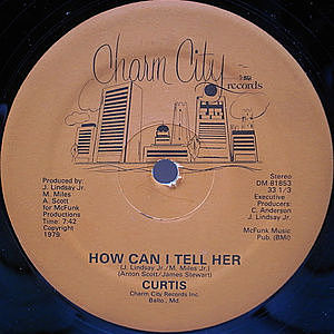 レコード画像:CURTIS / How Can I Tell Her