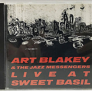 レコード画像:ART BLAKEY / JAZZ MESSENGERS / Live At Sweet Basil