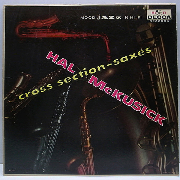 レコードメイン画像:美再生!! FLAT Orig. HAL MckUSICK Cross Section / BILL EVANS
