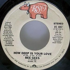 レコード画像:BEE GEES / How Deep Is Your Love