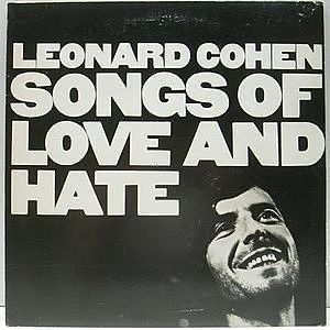 レコード画像:LEONARD COHEN / Songs Of Love And Hate