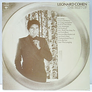 レコード画像:LEONARD COHEN / The Best Of