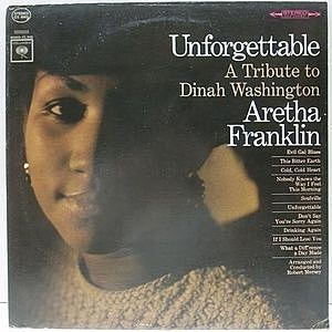 レコード画像:ARETHA FRANKLIN / Unforgettable - A Tribute To Dinah Washington