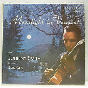 レコード画像:JOHNNY SMITH / STAN GETZ / Moonlight In Vermont