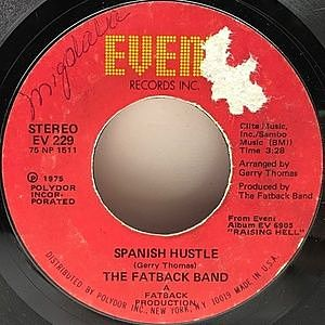 レコード画像:FATBACK BAND / Spanish Hustle / Put Your Love