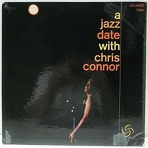 レコード画像:CHRIS CONNOR / A Jazz Date With Chris Connor