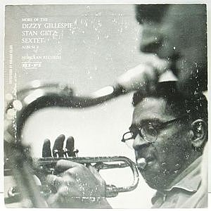レコード画像:DIZZY GILLESPIE / STAN GETZ / More Of The Dizzy Gillespie Stan Getz Sextet. Album 2