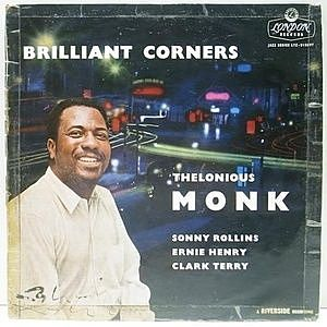 レコード画像:THELONIOUS MONK / Brilliant Corners