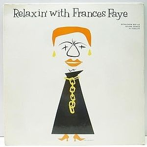 レコード画像:FRANCES FAYE / Relaxin With Frances Faye