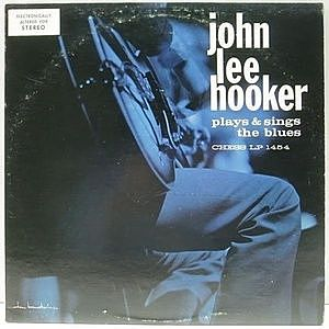 レコード画像:JOHN LEE HOOKER / Plays & Sings The Blues