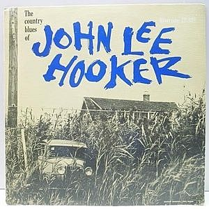 レコード画像:JOHN LEE HOOKER / The Country Blues Of