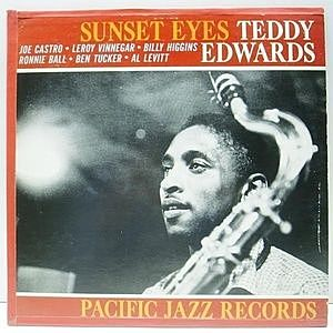 レコード画像:TEDDY EDWARDS / Sunset Eyes
