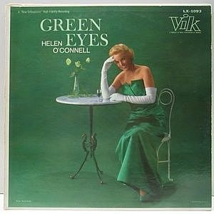 レコード画像:HELEN O'CONNELL / Green Eyes