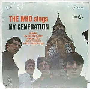 レコード画像:WHO / My Generation