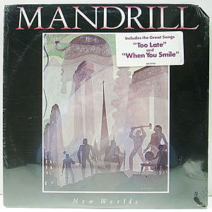 レコード画像:MANDRILL / New Worlds