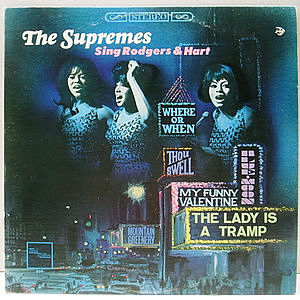 レコード画像:SUPREMES / The Supremes Sing Rodgers & Hart