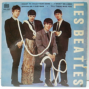 レコード画像:LES BEATLES / I Want To Hold Your Hand