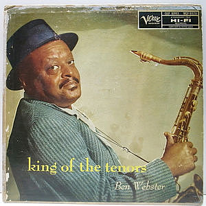 レコード画像:BEN WEBSTER / King Of The Tenors