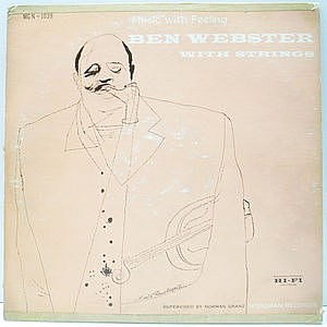 レコード画像:BEN WEBSTER / Music With Feeling