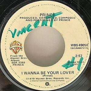レコード画像:PRINCE / I Wanna Be Your Lover