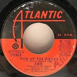 レコード画像:AWB / Pick Up The Pieces