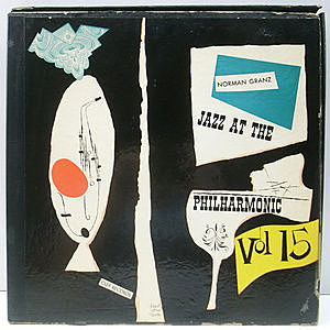 レコード画像:NORMAN GRANZ / JAZZ AT THE PHILHARMONIC / Norman Granz' Jazz At The Philharmonic Vol.15