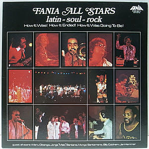 レコード画像:FANIA ALL STARS / Latin-Soul-Rock