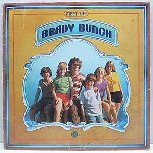 レコード画像:BRADY BUNCH / Meet The Brady Bunch