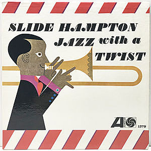 レコード画像:SLIDE HAMPTON / Jazz With A Twist