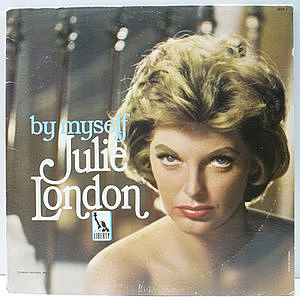 レコード画像:JULIE LONDON / By Myself
