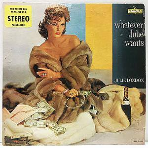 レコード画像:JULIE LONDON / Whatever Julie Wants