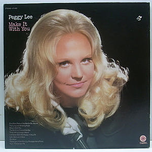 レコード画像:PEGGY LEE / Make It With You