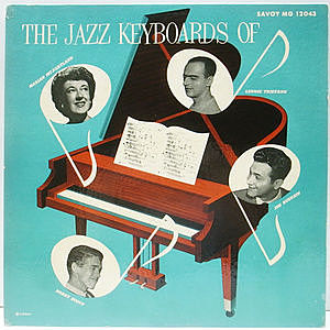 レコード画像:LENNIE TRISTANO / MARIAN McPARLAND / BOBBY SCOTT / JOE BUSHKIN / The Jazz Keyboards