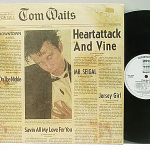 レコード画像:TOM WAITS / Heartattack And Vine