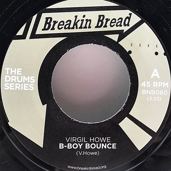 レコードメイン画像:良盤!! UK 7インチ VIRGIL HOWE Boy Bounce / MALCOLM CATTO B-Boy Spaceshuffle ('Breakin' Bread) ブレイクビーツ 45RPM.『Drum Series』