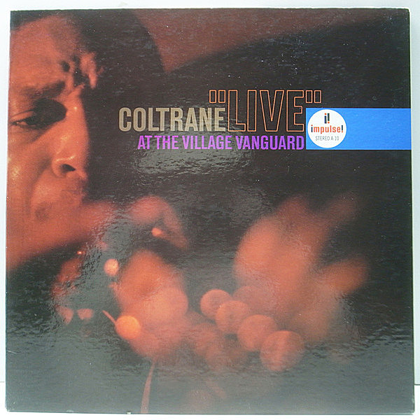 レコードメイン画像:良好品!! 1st AM-PAR RVG刻印 完全オリジナル JOHN COLTRANE Live At The Village Vanguard ('62 Impulse) Eric Dolphy, McCoy Tyne