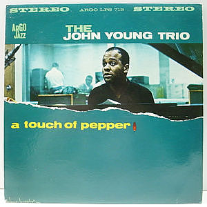 レコード画像:JOHN YOUNG / A Touch Of Pepper