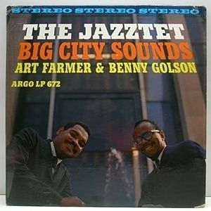 レコード画像:ART FARMER / BENNY GOLSON / JAZZTET / Big City Sounds
