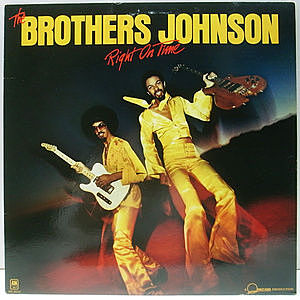 レコード画像:BROTHERS JOHNSON / Right On Time