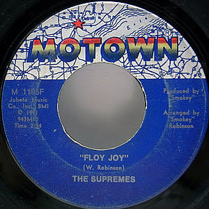 レコード画像:SUPREMES / Floy Joy / This Is The Story