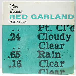 レコード画像:RED GARLAND / All Kinds Of Weather