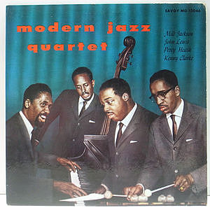 レコード画像:MILT JACKSON / MODERN JAZZ QUARTET / The QUARTET