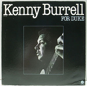 レコード画像:KENNY BURRELL / For Duke