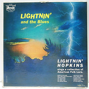 レコード画像:LIGHTNIN HOPKINS / Lightnin' And The Blues
