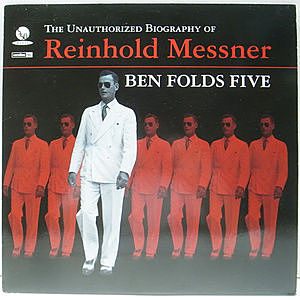 レコード画像:BEN FOLDS FIVE / The Unauthorized Biography Of Reinhold Messner