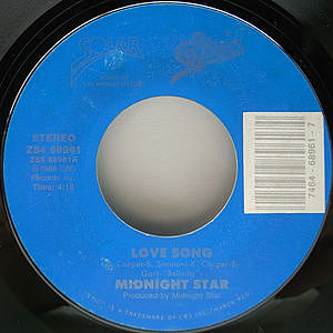 レコード画像:MIDNIGHT STAR / Love Song