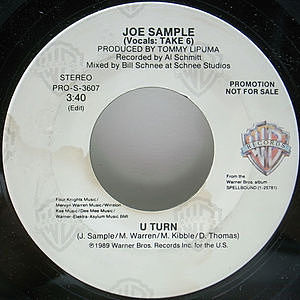 レコード画像:JOE SAMPLE / U Turn