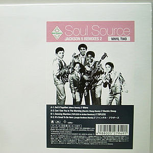 レコード画像:JACKSON 5 / Soul Source Jackson 5 Remixes 2