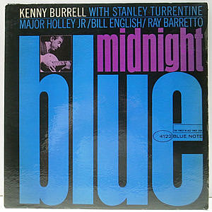 レコード画像:KENNY BURRELL / Midnight Blue