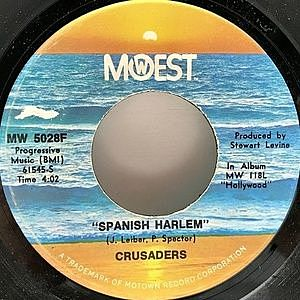 レコード画像:CRUSADERS / Spanish Harlem
